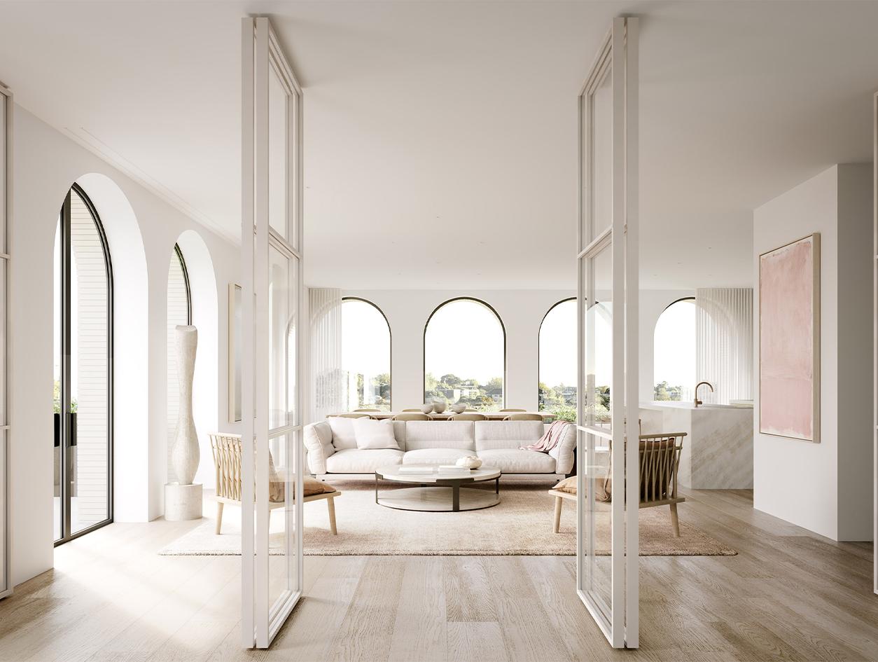 Danish White | Hampden Road | Rob Mills Architects
