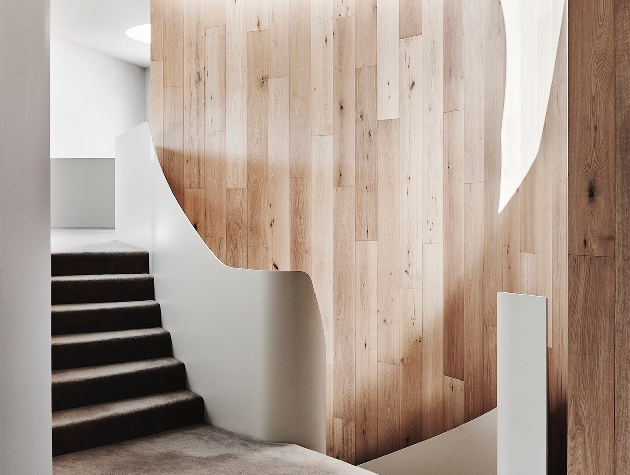 White Smoked | Canopy House | Leeton Pointon Architects and Interiors
