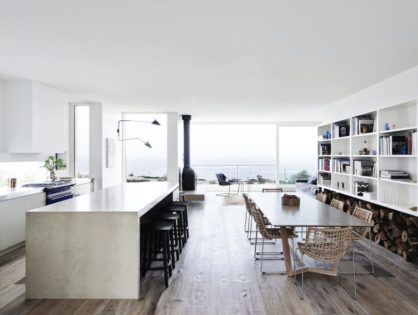 Behind the Boards: A Study in Coastal Composition with Flinders House by Susi Leeton Architects and Interiors