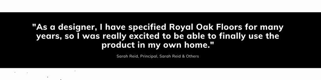 Testimonial - Sarah Reid